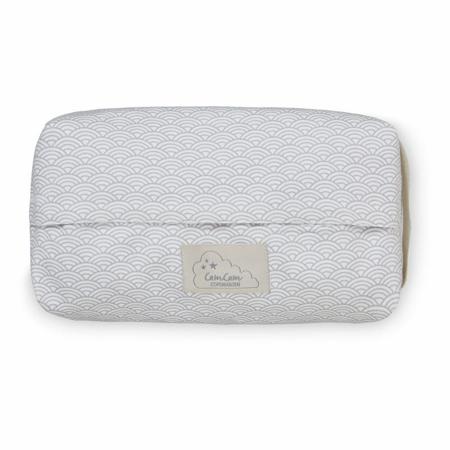 Slika CamCam® Toaletna torbica za vlažilne robčke Grey Wave