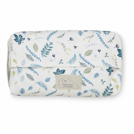 Slika CamCam® Toaletna torbica za vlažilne robčke Pressed Leaves Blue