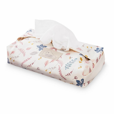 Picture of CamCam®  Wet Wipe Cover Pressed Leaves Rose