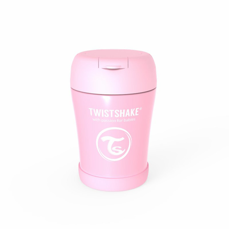 Picture of Twistshake® Stainless Steel Food Container Pink