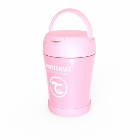 Immagine di Twistshake®  Portapappa termico 350ml Pink