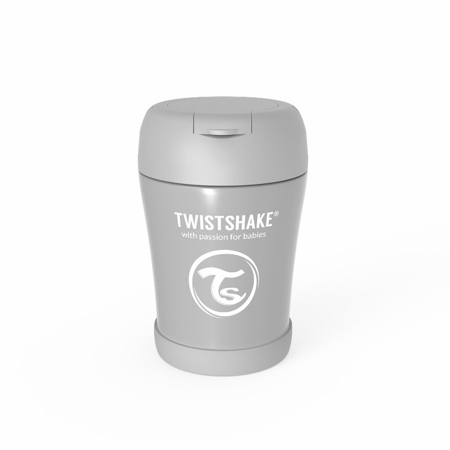 Picture of Twistshake® Stainless Steel Food Container Grey