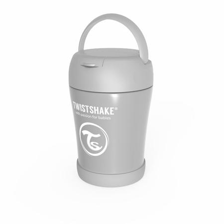 Twistshake® Termo posodica za hrano 350ml Grey