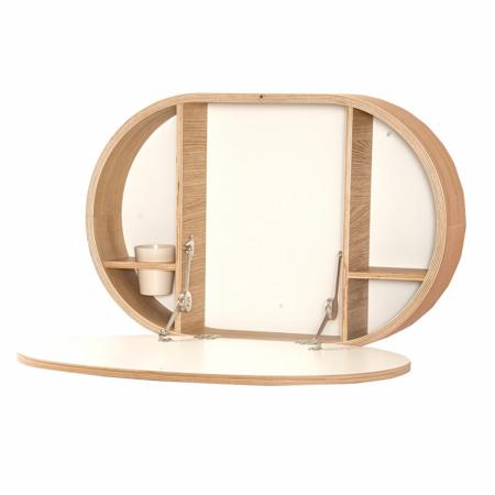 Slika Charlie Crane® Zložljiva stenska mizica BAKI