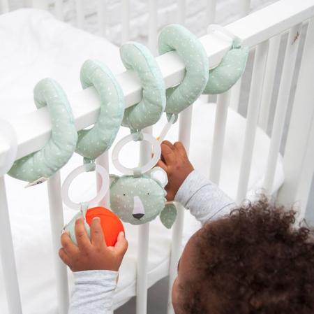 Trixie Baby® Aktivnostna spirala Mrs. Polar Bear