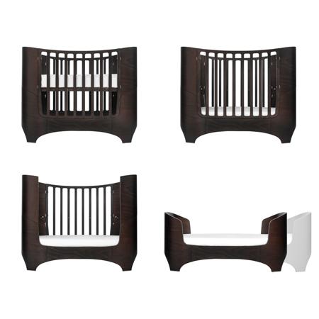 Slika Leander® Otroška posteljica Baby 0-3 leta Walnut