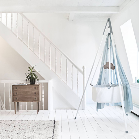 Slika Leander® Otroška viseča zibelka (brez stojala) White