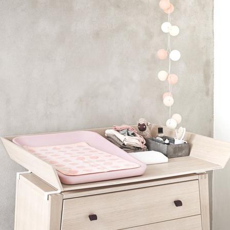 Leander® Previjalna podloga Matty Soft Pink