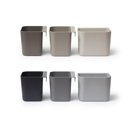 Leander® Organizatorji Dusty Grey 3 kosi
