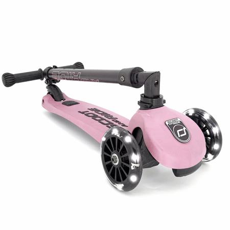 Slika Scoot & Ride® Otroški skiro Highwaykick 3 Rose LED