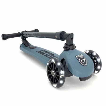 Slika Scoot & Ride® Otroški skiro Highwaykick 3 Steel LED