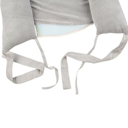 Effiki® Žametno otroško gnezdece Grey
