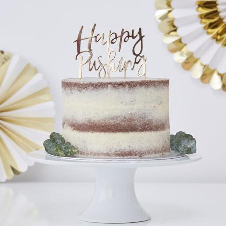 Slika Ginger Ray® Okrasek za torto Happy Pushing