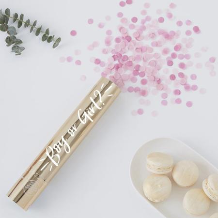 Slika Ginger Ray® Strelec konfetov Pink