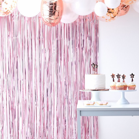 Slika Ginger Ray® Viseča zavesa Pink Twinkle Twinkle