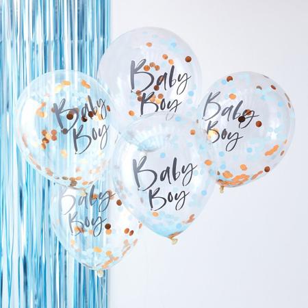 Ginger Ray® Viseča zavesa Blue Twinkle Twinkle