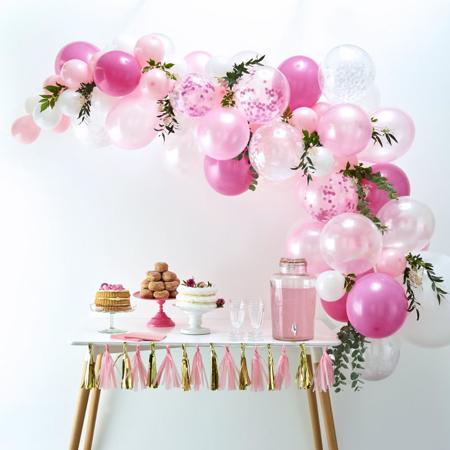 Ginger Ray® Lok iz balonov Pink