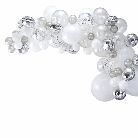 Slika Ginger Ray® Lok iz balonov Silver