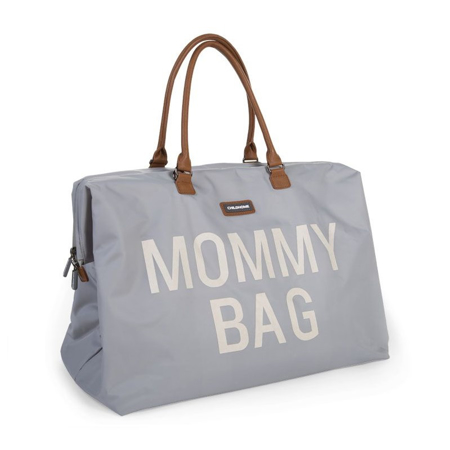 Childhome® Previjalna torba Mommy Bag Big Grey/White
