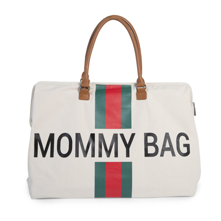Slika Childhome® Previjalna torba Mommy Bag Big Green/Red