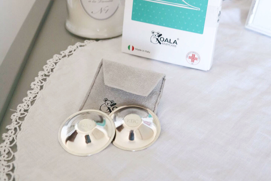 Koala Babycare Silver Cups pokrovčki za bradavice