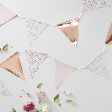 Immagine di Ginger Ray®  Ghirlanda di bandiere Ditsy Floral