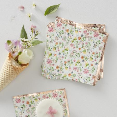 Slika Ginger Ray® Serviete Ditsy Floral 16 kosov