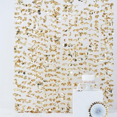 Slika Ginger Ray® Viseča zavesa za fotografiranje Gold