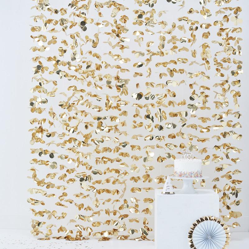 Ginger Ray® Viseča zavesa za fotografiranje Gold