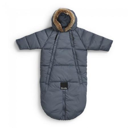 Slika Elodie Details® Pajac in zimska vreča za dojenčka Tender Blue 6-12 M