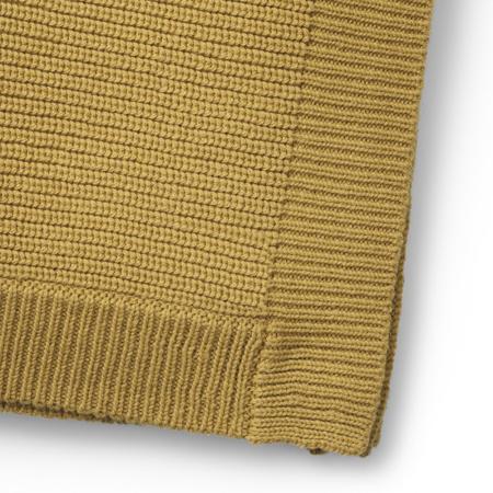 Elodie Details® Pletena volnena odejica Gold 70x100