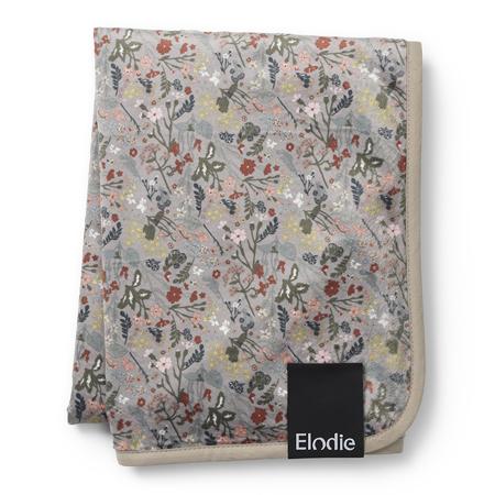 Picture of Elodie Details® Žametna odejica Vintage Flower 75x100