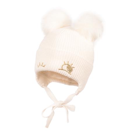 Immagine di Jamiks® Cappellino Invernale Zina Ecru 44 cm