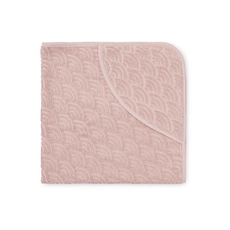 Slika CamCam® Brisača s kapuco Blossom Pink 80x80
