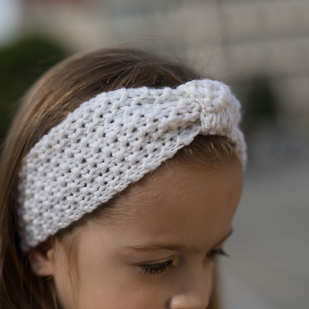 Picture of Knitted Headband Grey