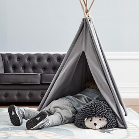 Kids Concept® Mini tipi šotor Grey