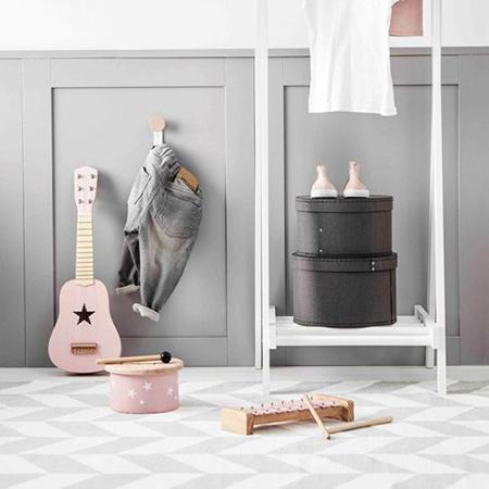 Slika Kids Concept® Set okroglih škatel Grey