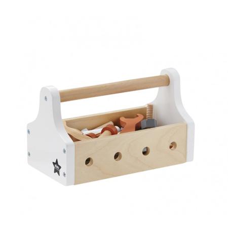 Kids Concept® Škatlica z orodjem Star Natural
