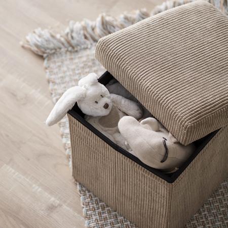 Kids Concept® Sedež in škatla za shranjevanje Corduroy
