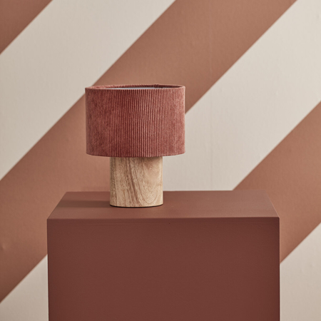 Picture of Kids Concept® Table Lamp Corduroy Rust