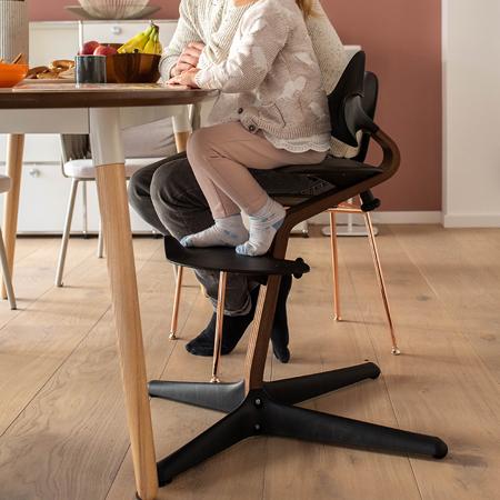 Nomi® Otroški stolček Black (sedež, naslonjalo, podpore za noge)