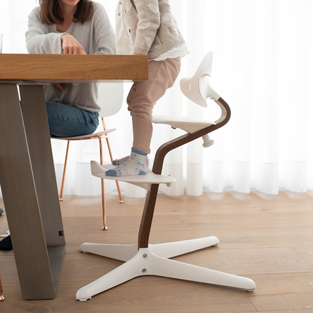 Nomi® Otroški stolček White (sedež, naslonjalo, podpore za noge)