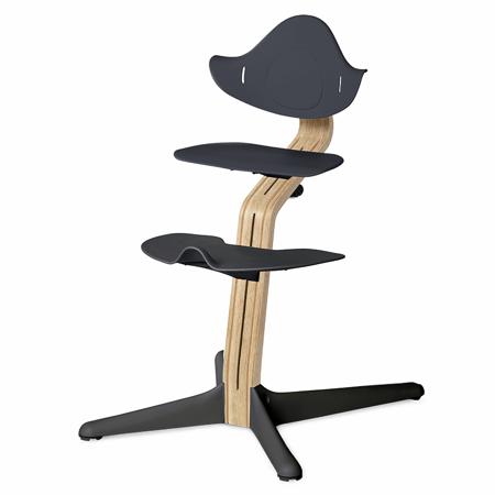 Slika Nomi® Otroški stolček Anthracite (sedež, naslonjalo, podpore za noge)