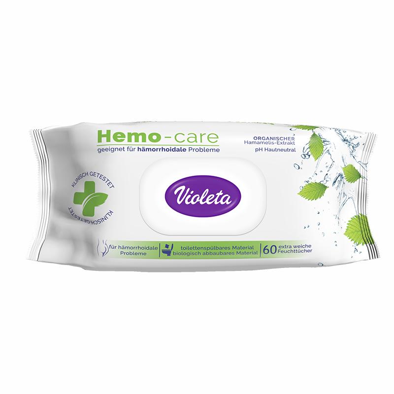 Violeta® Vlažni Toaletni papir Hemo Care 60/1