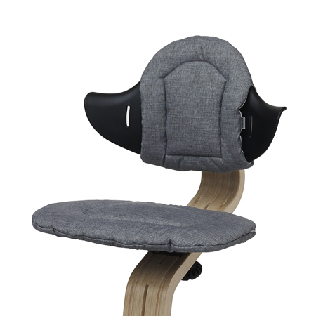 Slika Nomi® Blazina za stolček Dark Grey