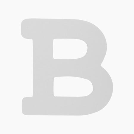 BamBam® Lesene črke Bele - B