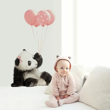 Dekornik® Stenska nalepka Pink Panda