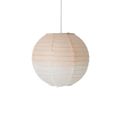 Bloomingville® Viseča papirnata svetilka Roza O25 cm