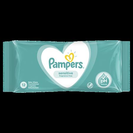 Slika Pampers® Otroški čistilni robčki Sensitive 12 kosov