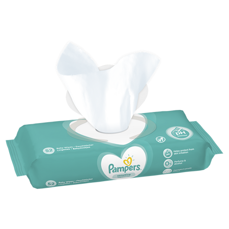 Immagine di Pampers® Salviettine umidificate Sensitive 52 pz.